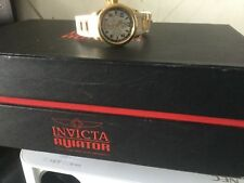 invicta watch russian diver man or woman white and gold