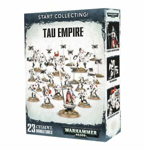 Start Collecting Tau Empire Warhammer 40K Games Workshop NIB Flipside