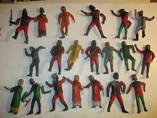 Collection of 21 Planet of the Apes Vintage Built up model kits parts