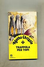 Agatha Christie # TRAPPOLA PER TOPI # Mondadori 1982 1A ED.