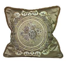 CURCYA European Royal Sofa Throw Pillow Cover Decorative Cushion Cases Decor