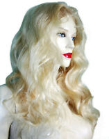 HUMAN HAIR Remi Remy Full Lace Wig Wigs Indian Blonde 613 Long Body Wave