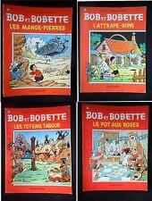 Lot de 4 BOB ET BOBETTE -103-108-130-145-Willy Vandersteen