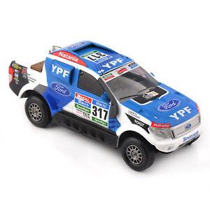 1/43 Blue Ford Ranger #317 Rally Dakar (2015) Car Diecast Vehicles Toys