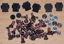 HP 2510p 45 Schrauben Set Screw & 8 Gummi Abdeckungen Bumper