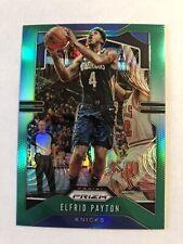 Elfrid Payton 2019-20 Panini Prizm Green Prizm Refractor #242 New York Knicks