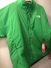 NWT THE NORTH FACE Men's Green Ventrix Full Zip Insulated Jacket XXL
