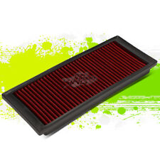 WASHABLE DROP IN PANEL PERFORMANCE AIR FILTER FOR 09-17 VW A5 PQ35 2.0T RED