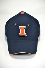 Zephyr Illinois Fighting Illini Adjustable Hat Blue Orange NCAA College