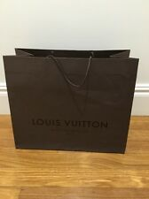 ^Authentic Louis Vuitton LARGE paper shopping bag ~ FASHION BLOGGER