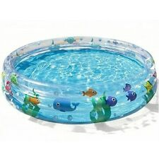 Bestway Childrens Kids Large Paddling Swimming Pool 5ft 1.52m Garden Play Pool