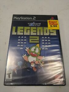 Taito Legends 2 Sony PlayStation PS2 Brand New Sealed