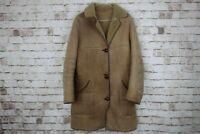 "Nurseys Brown Sheepskin Coat Chest Size 38"" No.U268 20/2"
