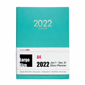 Big A4 Soft Cover 2022 Daily Office Planner One Day Per Page 12 Month Orgainzers