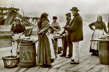 "Frank Meadows Sutcliffe Photo, ""Whitby Fish Stalls"" 1887"