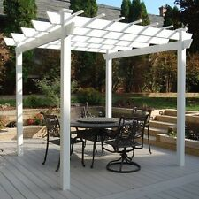 "Dura-Trel Kingston 8' H x 8'9"" W x 8'9"" D Pergola"
