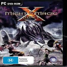 D5 Might & Magic X Legacy - PC DVD ROM - FREE POST