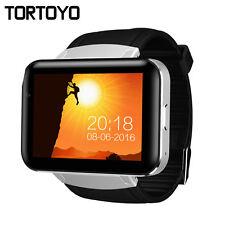"DM98 Android 5.1 Smart Watch Phone 2.2"" Big Screen 3G Smartwatch Clock HD Camera"