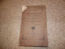 1874.Essai historique sur l'abbaye de Mondaye.Godefroid Madelaine