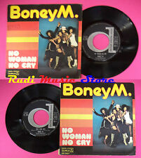 LP 45 7'' BONEY M. No woman no cry New york city 1977 italy DURIUM no cd mc dvd