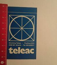 Aufkleber/Sticker: Stichting Teleac (16011770)