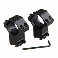 1pair 30mm High Profile Sight Ring 11mm Dovetail Rifle Hunting Torch Scope Mount