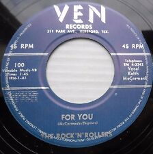 ROCK 'N' ROLLERS rockabilly reissue 45 FOR YOU BOY I THINK IT'S REALLY LOVE m650