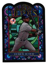Derek Jeter 1997 Topps Gallery of Heros Stained Glass #GH1