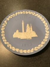 Wedgwood Jasperware Christmas Plate - Trafalgar Square - 1970