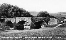 Aberystwyth, The Rheidol, Pen-y-Bont - Postcard