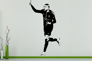 Kylian Mbappe French France Footballer Player Decal Wall Art Sticker Picture