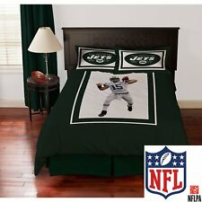 Nfl Biggshots New York Jets Tim Tebow Bedding Comforter Set Twin w/carry Bag