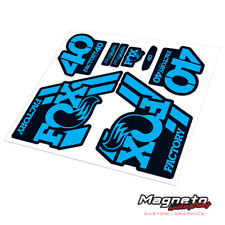Fox 40 2018 - Reproduction Fork Decals