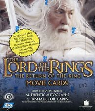 Lord of the Rings Return of the King Second Edition Hobby Card Box