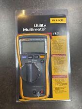 Brand New Fluke 113 Utility True Rms Digital Multimeter