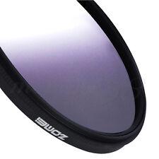 ZOMEI 58mm Ultra Slim Graduated Neutral Density Grey Color Lens Filter For DSLR