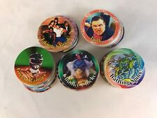 MIGHTY MORPHIN POWER RANGERS 2 POWER CAPS Pog Set (50) from WAL-MART CARD PACKS