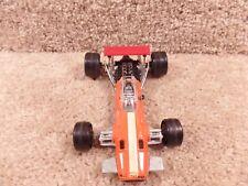 Vintage 1:32 Scale Ponlistil Brabham F-1 ART FK9 Race Orange Car Made IN Italy