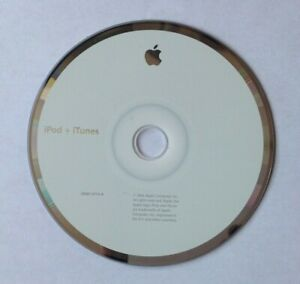 APPLE iPod and iPod Mini Install CD 2Z691-5715-A OEM 2006 Software