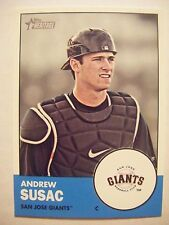 ANDREW SUSAC RC 2012 Topps Heritage Minors baseball card 176 GIANTS OREGON STATE