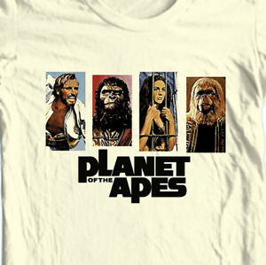 Planet of the Apes T-shirt Original vintage 1960s retro movie sci fi graphic tee
