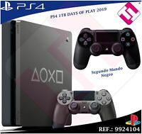 DAYS OF PLAY PS4 1TB 2019 PLAYSTATION 4 + MANDO DUALSHOCK COLOR NEGRO 100% SONY