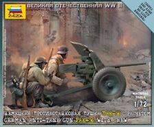 Zvezda 1/72 PaK 36 German Anti-tank Gun with Crew # 6114