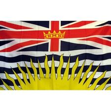 New listing British Columbia Flag Banner Sign 3' x 5' Foot Polyester Grommets