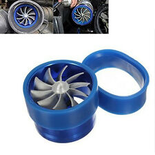 Perfect F1-Z Single Supercharger Turbine Turbo charger Air Intake Fuel Saver Fan