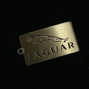 Stainless Steel Jaguar Keyring