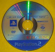 JAK AND DAXTER 1 Ps2 Versione Promo Europea gioco completo »»»»» SOLO DISCO