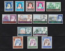 Qatar - 1968 set, mint, cat. $ 165.90