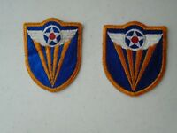 Lot of 2 U.S. Army Military Patches Star Wings Air Force Airborne? M9