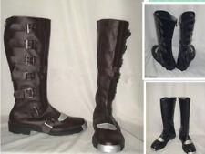 classic version of Battlestar Galactica Cosplay Boots Custom-Made Black/cfg